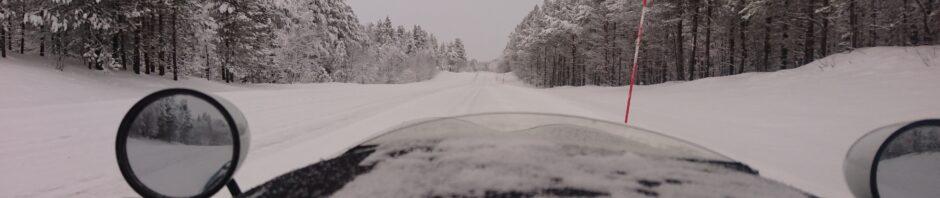 Velomobile Winter Tour Report 03